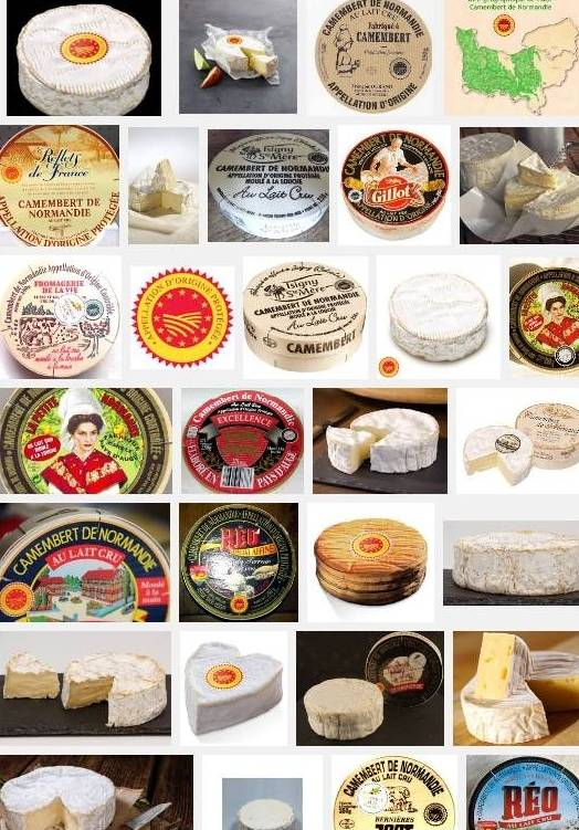 Camembert de Normandie(aoc-aop)